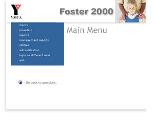 Sarasotaq YMCA Foster Care Program - Software Interface Design