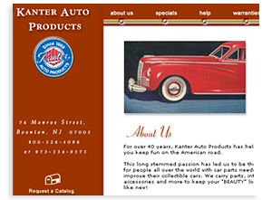 Kanter Automotive - Sarasota Automotive Website Design
