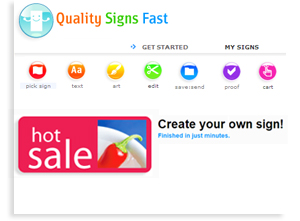 Sarasota Quality Signs:  Printing Website Design