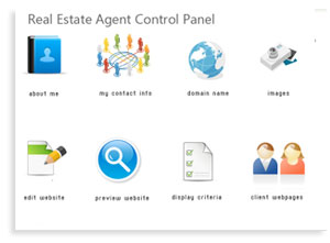 Real Estate Agent - Content Management System Control Panel