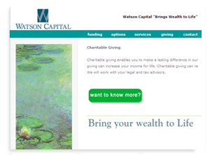 Financial Consultant Website Design Sarasota, Florida